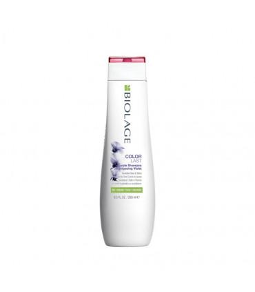 Biolage Colorlast Purple Shampooing 250ml Shampooing neutralisant les tons cuivrés et jaunes - 1