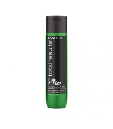 Matrix Total Results Curl Please Soin 300ml Après-shampooing pour cheveux bouclés - 1
