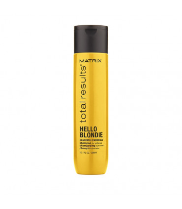 Matrix Total Results Hello Blondie Shampooing 300ml Shampooing protecteur pour cheveux blonds - 1