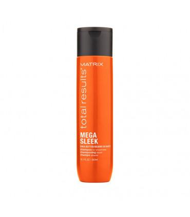Matrix Total Results Mega Sleek Shampooing 300ml Shampooing pour cheveux indisciplinés - 1