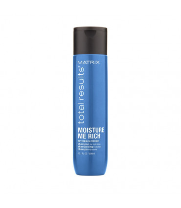 Matrix Total Results Moisture Me Rich Shampooing 300ml Shampooing hydratant à la glycérine - 1