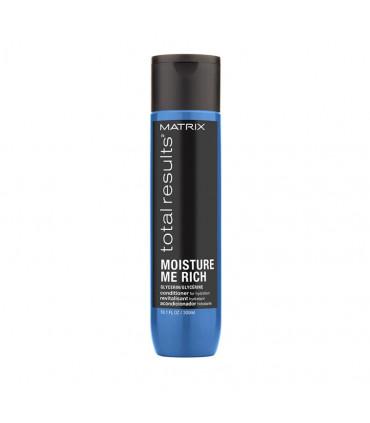 Matrix Total Results Moisture Me Rich Soin 300ml Après-shampooing à la glycérine - 1