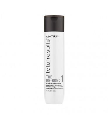 Matrix Total Results Re-Bond Shampooing 300ml Shampooing régénérant pour cheveux abîmés - 1