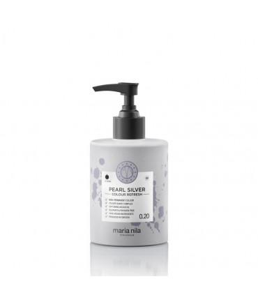 Maria Nila Color Refresh Pearl Silver 0.20 300ml 1 Masque nourrissant repigmentant