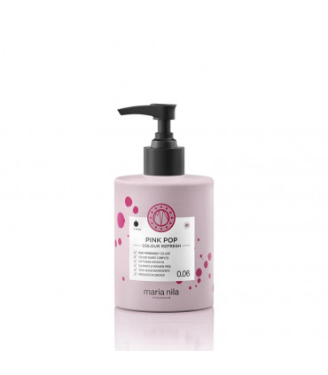 Maria Nila Color Refresh Pink Pop 0.06 300ml 1 Verzorgend masker met kleurpigmenten