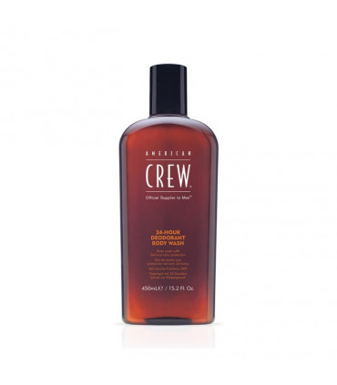 American Crew 24hour Deodorant Bodywash 450ml 1 Savon avec une odeur longue durée