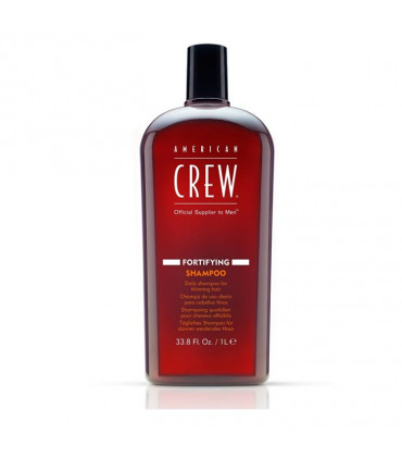 American Crew Fortifying Shampoo 1000ml 1 Shampooing densifiant