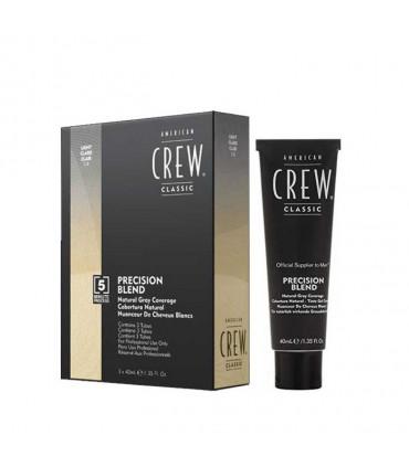 American Crew Precision Blend 7-8 Light 3x40ml 1 Nuanceur de cheveux blonds