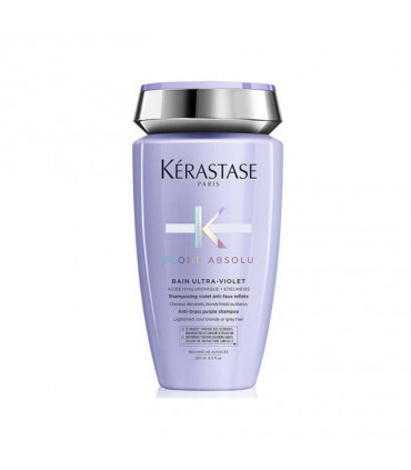 Kérastase Blond Absolu Bain Ultra-Violet 250ml Shampooing pigmenté violet anti faux-reflets - 1