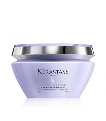 Kérastase Blond Absolu Masque Ultra-Violet 200ml 1 Hydraterende haarmasker voor blond haar
