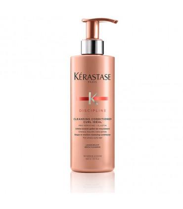 Kérastase Discipline Bain Curl Idéal 400ml 1 Vorm-in-beweging cleansing shampoo