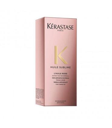 Kérastase Elixir Ultime L'huile Rose 100ml Huile sublimatrice au thé impérial - 4