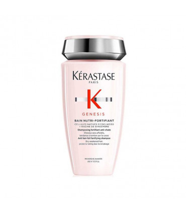 Kérastase Genesis Bain Nutri-Fortifiant 250ml 1 Shampooing fortifiant anti-chute pour cheveux fragiles