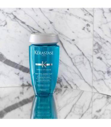 Kérastase Spécifique Bain Vital Dermo-Calm 250ml 3 Shampooing hypoallergénique et sans silicone pour cuir chevelu sensible