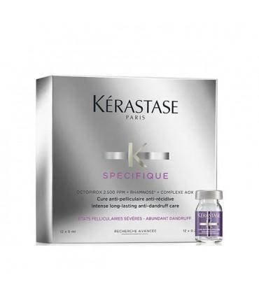 Kérastase Spécifique Cure Anti-Pelliculaire 12x6ml 1 Cure anti-récidive pour les cuirs chevelus à pellicules grasses ou sèches