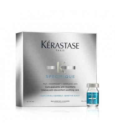 Kérastase Spécifique Cure Apaisante Anti-Inconforts 12x6ml 1 Cure anti-inconforts pour les cuirs chevelus sensibles