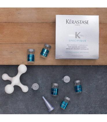 Kérastase Spécifique Cure Apaisante Anti-Inconforts 12x6ml 3 Cure anti-inconforts pour les cuirs chevelus sensibles