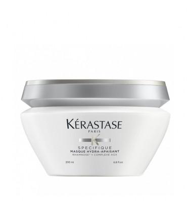 Kérastase Spécifique Masque Hydra-Apaisant 200ml 1 Een diepe verzorging met verzachtende werking die de hoofdhuid hydrateert.