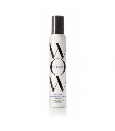 Color WOW Color WOW Brass Banned Correct & Perfect Mousse Blonde Hair 200ml 1