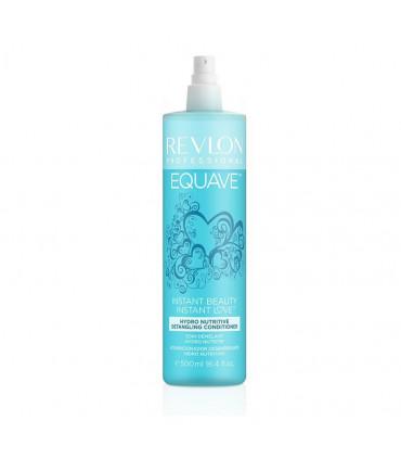Revlon Professional Equave Instant Detangling Soin 500ml Après-shampoing hydratant sans rinçage en spray pour cheveux normaux à