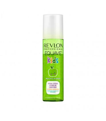 Revlon Professional Equave Kids Apple Soin démêlant 200ml Après-shampoing hypoallergénique sans rinçage pour des cheveux faciles