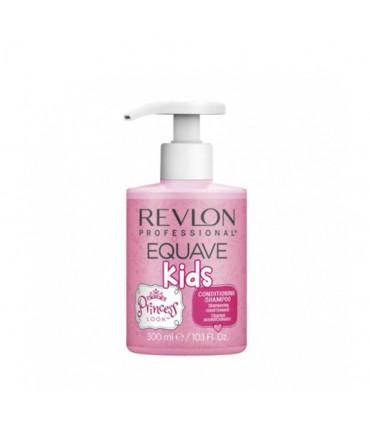 Revlon Professional Equave Kids Princess Shampooing 300ml Shampooing hydroallergénique pour enfants - 1