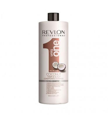 Revlon Professional Uniq One Shampoo-conditioner Coconut 1000ml Versterkende Shampoo voor Alle Haartypen - 1