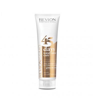 Revlon Professional Revlonissimo 45Days Color Care Blonds Dorés 275ml Soin complet pour cheveux blonds dorés, sans sulfates - 1