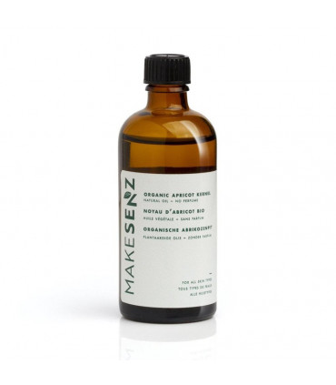 MakeSenz MakeSenz Huile végétale noyau d'abricot vierge 100ml 1