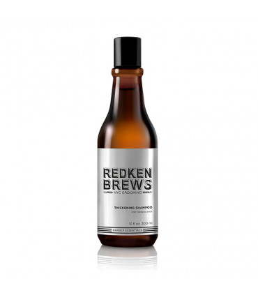 Redken Brews Thickening Shampooing 300ml 1 Shampooing favorisant le volume