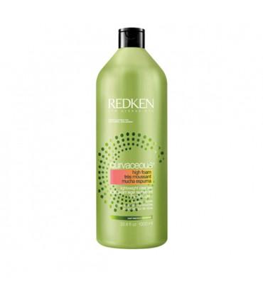 Redken Curvaceous High Foam 1000ml Crèmige Shampoo voor Krullend en Gepermanent Haar - 1
