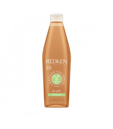 Redken Nature+Science All Soft Shampooing 300ml 1