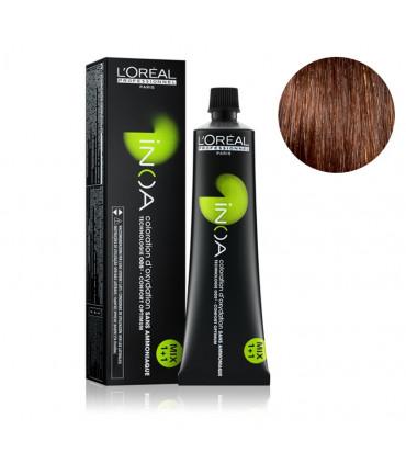 L'Oréal professionnel Inoa 60gr 6.45 Coloration permanente à base d'huile et sans ammoniaque - 1