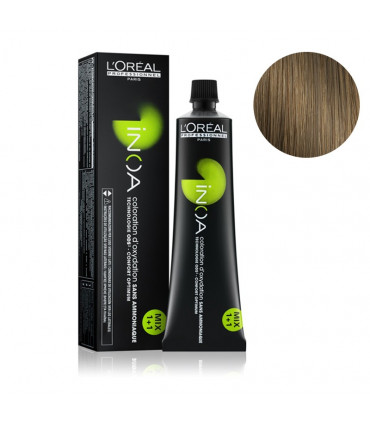 L'Oréal professionnel Inoa 60gr Fundamental 7.3 Coloration permanente à base d'huile et sans ammoniaque - 1
