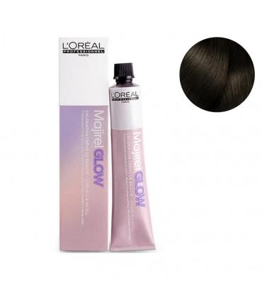 L'Oréal professionnel Majirel Glow 50ml Dark Base .13 Coloration permanente translucide - 1