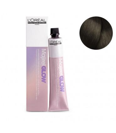 L'Oréal professionnel Majirel Glow 50ml Dark Base .17 Permanente Haarkleuring Voor Langdurige Neutralisatie - 1