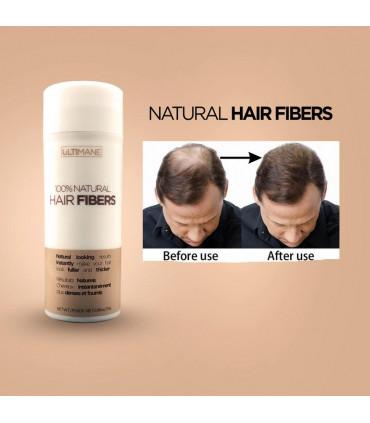 100% Natural Hair Fiber Black 25g