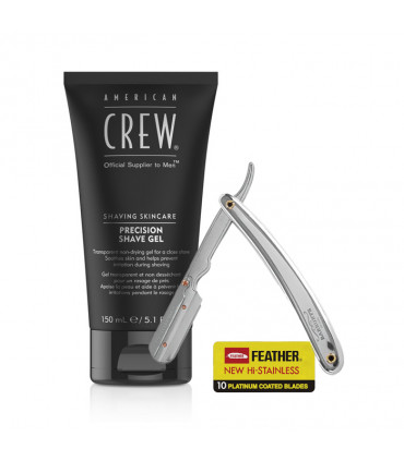 Trio Precision Shave Gel & Gentleness & Feather