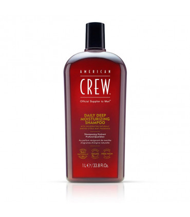 American Crew Daily Deep Moisturising Shampoo 1000ml Shampooing hydratant profond quotidien - 1