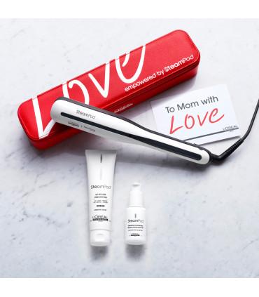L'Oréal professionnel Steampod 3.0 Mother's Day Pack Cheveux Fins + Étui Lisseur à vapeur professionnel - 2