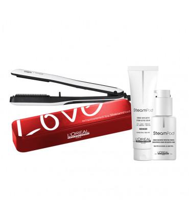 L'Oréal professionnel Steampod 3.0 Mother's Day Pack Cheveux Epais + Étui Lisseur à vapeur professionnel - 1