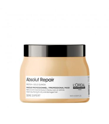 L'Oréal professionnel Série Expert Absolut Repair Masker 500ml Herstellende masker voor beschadigd haar - 1