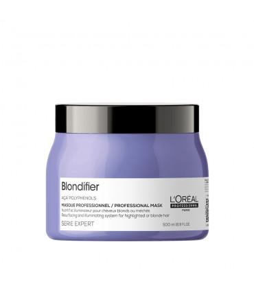L'Oréal professionnel Série Expert Blondifier Masker 500ml Voedingsmasker en verlichting voor blond haar - 1