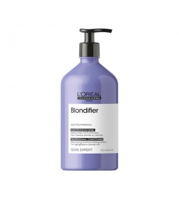 L'Oréal professionnel Série Expert Blondifier Conditioner 750ml Voedende en oplichtende verzorging voor blond haar - 1