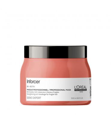 L'Oréal professionnel Série Expert Inforcer Masker 500ml Herstellende haarbreuk masker. - 1