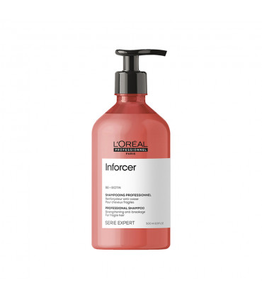 L'Oréal professionnel Série Expert Inforcer Shampoo 500ml Herstellende anti-haarbreuk shampoo - 1