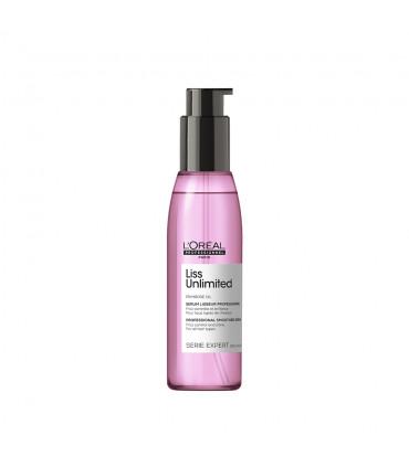 L'Oréal professionnel Série Expert Liss Unlimited Serum Lisseur 125ml Huile de brushing lissage intense. - 1