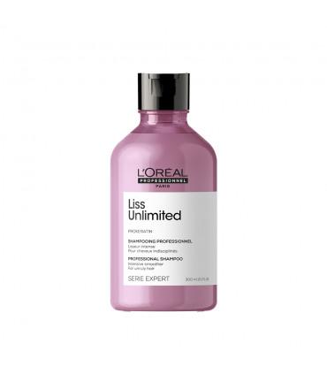 L'Oréal professionnel Série Expert Liss Unlimited Shampooing 300ml Shampooing lissage intense pour cheveux rebelles. - 1