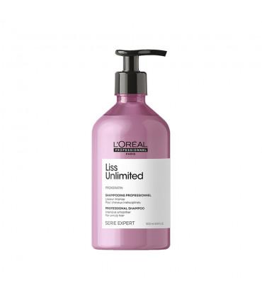 L'Oréal professionnel Série Expert Liss Unlimited Shampooing 500ml Shampooing lissage intense pour cheveux rebelles. - 1