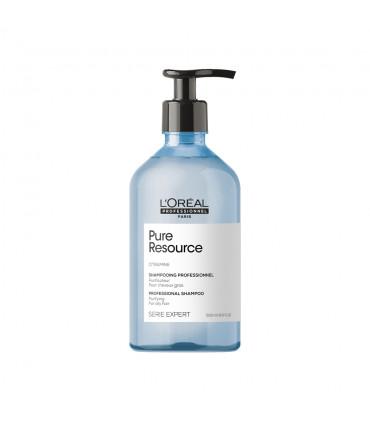 L'Oréal professionnel Série Expert Pure Ressource Shampoo 500ml Zuiverende shampoo - 1